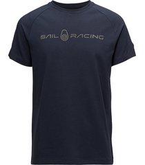 race logo tee t-shirts short-sleeved blå sail racing