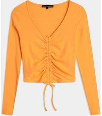 blusa naranja seven seven