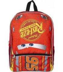 mochila escolar 16 multicolor cars