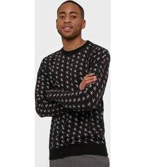 calvin klein underwear l/s sweatshirt tröjor svart