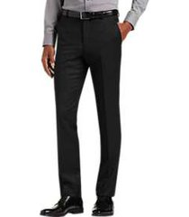 joe joseph abboud black extreme slim fit suit separate pant