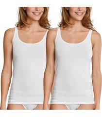 schiesser 2 stuks essentials cotton strap tops * gratis verzending *