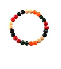 braccialetto di perline fatti a mano d'annata del braccialetto liscio variopinto dei monili di modo dei braccialetti per gli uomini