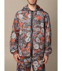mcq jacket albion by mcq printed nylon jacket