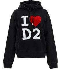 dsquared2 i love d2 hoodie