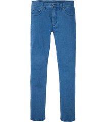 jeans elasticizzati in cotone biologico regular fit tapered (blu) - rainbow
