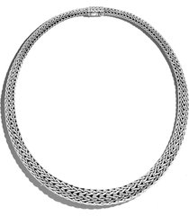 women's john hardy classic chain graduated necklace
