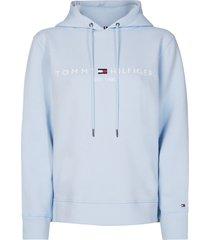 tommy hilfiger breezy blue hoodie licht