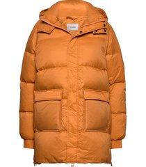 sol down jacket 20-04 fodrad jacka orange holzweiler