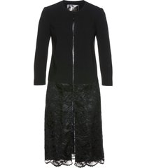 blazer lungo con pizzo premium (nero) - bpc selection premium