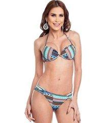 biquini com bojo bolha maré brasil feminino - feminino