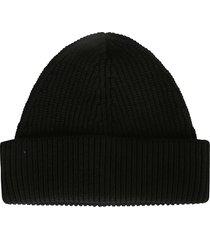 maison margiela knit logo beanie