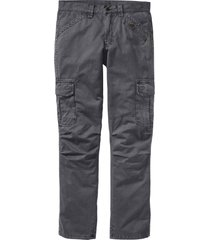pantaloni cargo loose fit straight (grigio) - rainbow