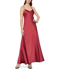 bcbgmaxazria open-back satin slip dress