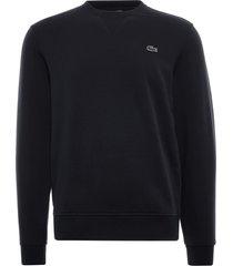 lacoste sport cotton blend fleece sweatshirt | noir | sh1505-c31