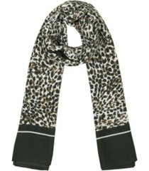 rebecca minkoff women's spotty animal square scarf