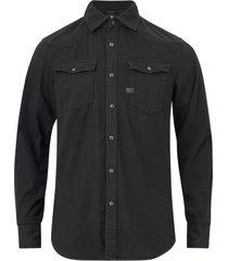 jeansskjorta 3301 slim shirt l/s