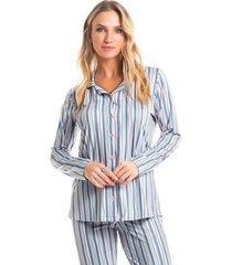 pijama larissa abotoado