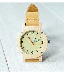 damski drewniany zegarek sporty maple