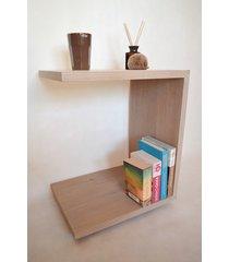 drewniany stolik greg dębowy stolik pomocniczy