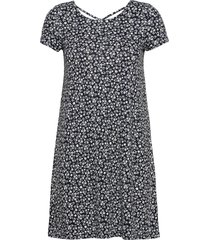 onlbera back lace up s/s dress jrs kort klänning multi/mönstrad only