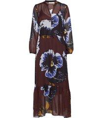 kalistaiw long dress maxi dress galajurk multi/patroon inwear