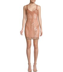lauren sequin sheath dress