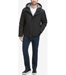 cole haan men's oxford hooded jacket