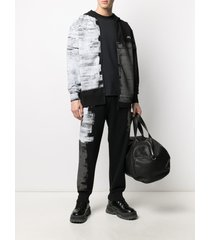 a-cold-wall* brush stroke zip-up hoodie