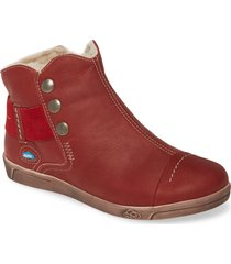 cloud aline bootie, size 9.5-10us in red leather at nordstrom