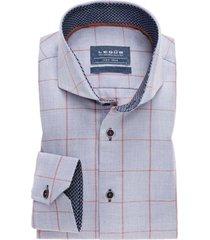 ledub overhemd strijkvrij tailored fit