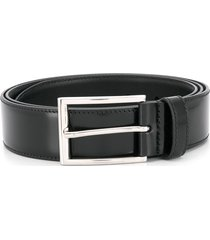 church's rectangle buckle belt - black