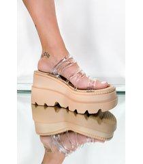 akira cape robbin palm street sandal flatform