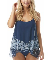 coco reef current mesh underwire tankini top women's swimsuit