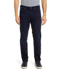 men's 34 heritage charisma slim straight leg jeans, size 38 x 34 - blue