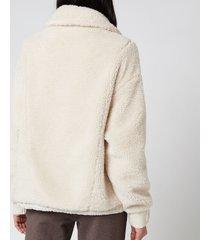 varley women's appleton sweater - eggnog - l