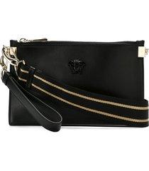 versace medusa palazzo clutch bag - black