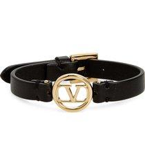 women's valentino crystal vlogo friendship bracelet