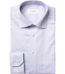 grijs overhemd eton classic fit