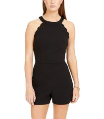 bcx juniors' scalloped romper
