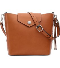 rag & bone atlas leather bucket bag -