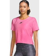 polera nilke w nk air top ss fucsia - calce regular