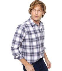 camisa azul wrangler cuadros
