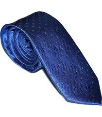 gravata azul royal slim 4023