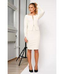 hanna schönberg x na-kd ribbad kjol - white
