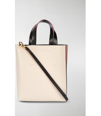 marni mini colour-blocked tote bag