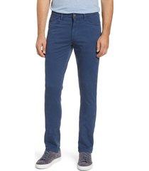 men's vintage 1946 sunny slim fit stretch twill pants, size 36 - blue