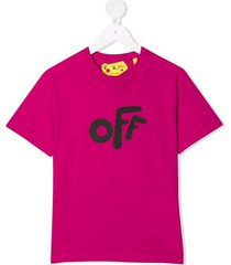 off rounded s/s t-shirt