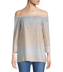 amy striped blouse