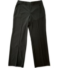 alfani tummy-control pull-on wide-leg pants, created for macy's